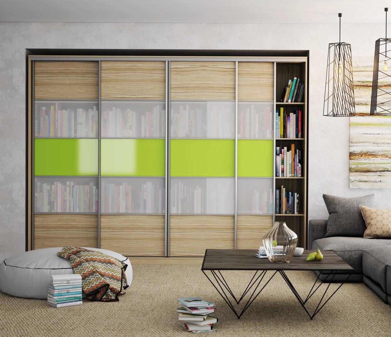 Книжный шкаф (79 фото): современные узкие стеллажи для книг,.