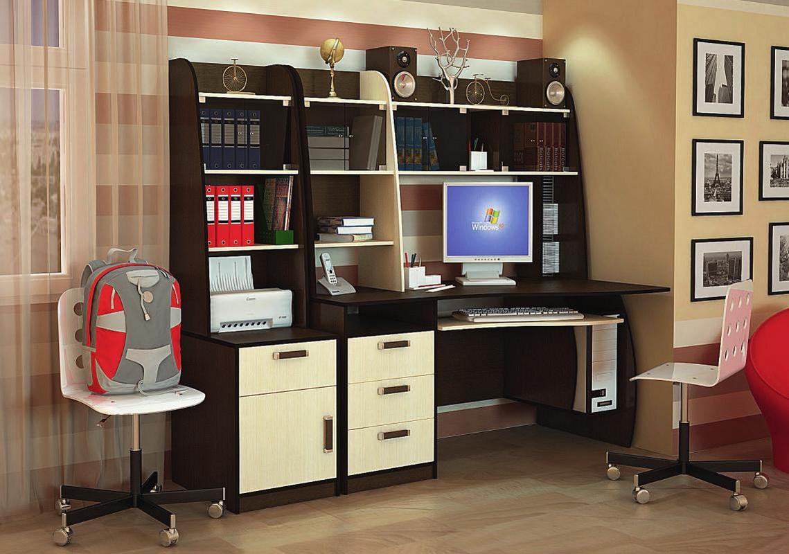 Письменный стол для школьника (31 фото): угловой, школьный р.