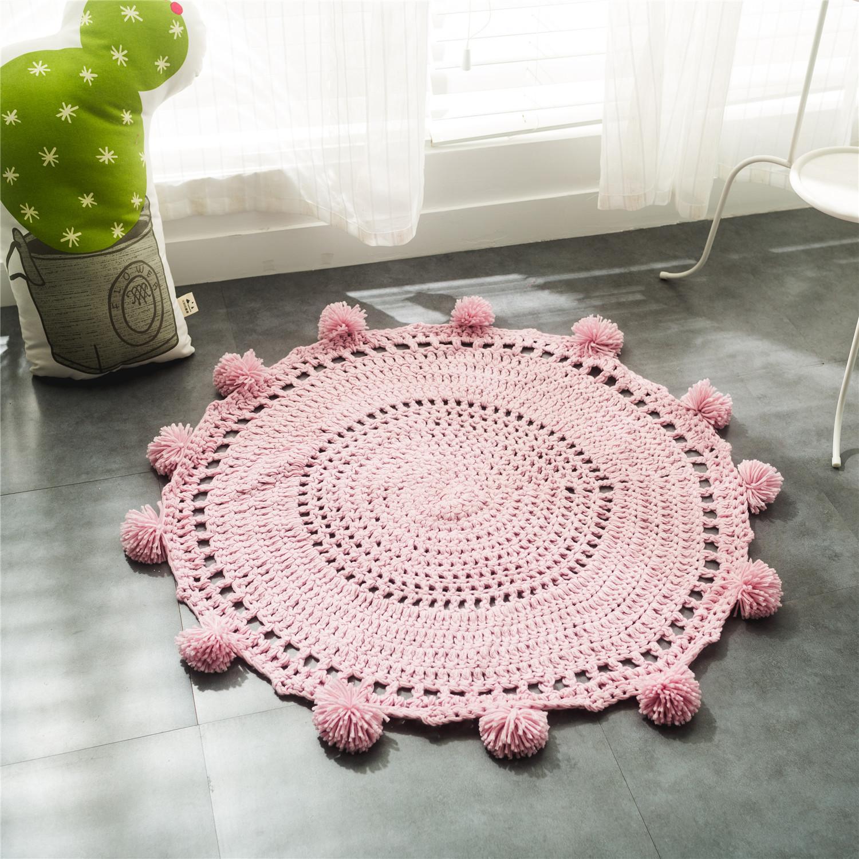 коврик в ванную из трикотажной пряжи
