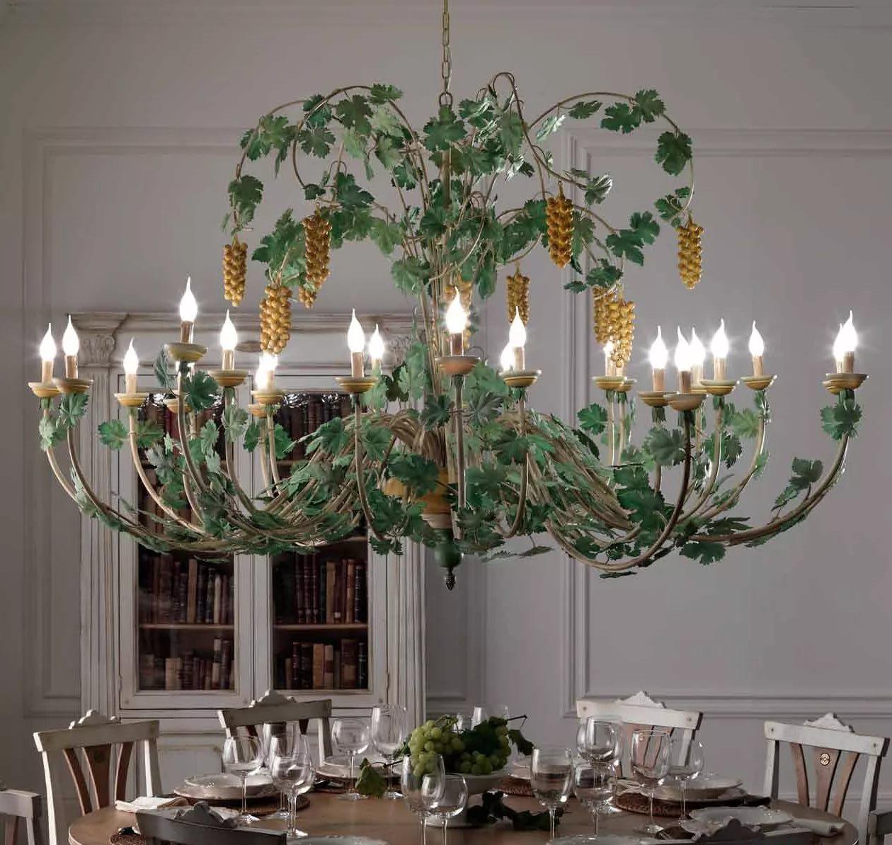Лампа настольная со стеклянным абажуром