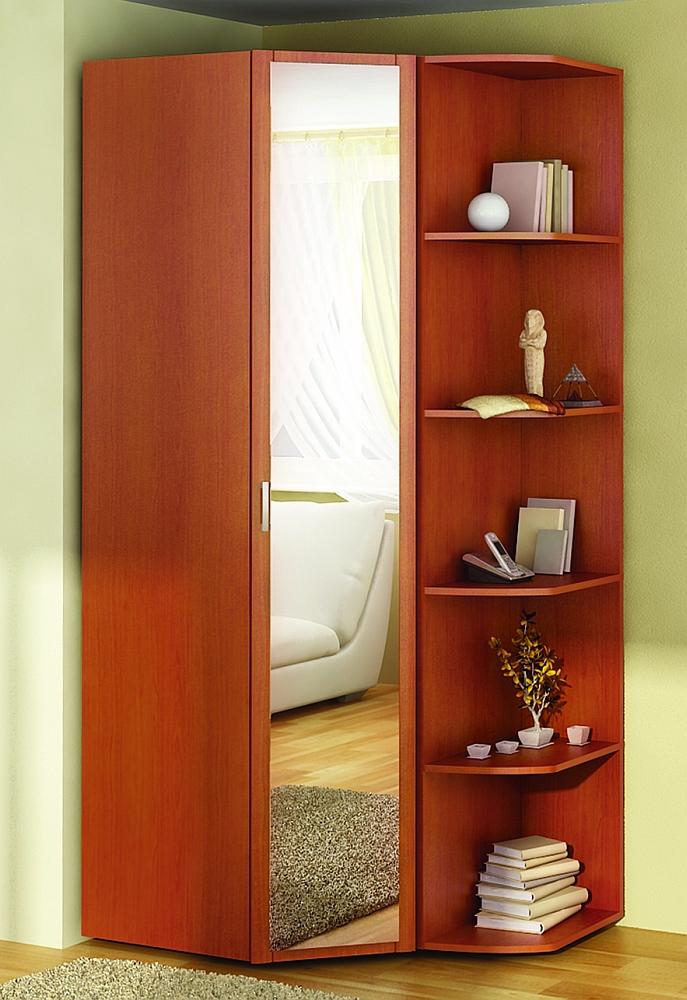 Маленькие угловые шкафы (33 фото): варианты небольших размер.