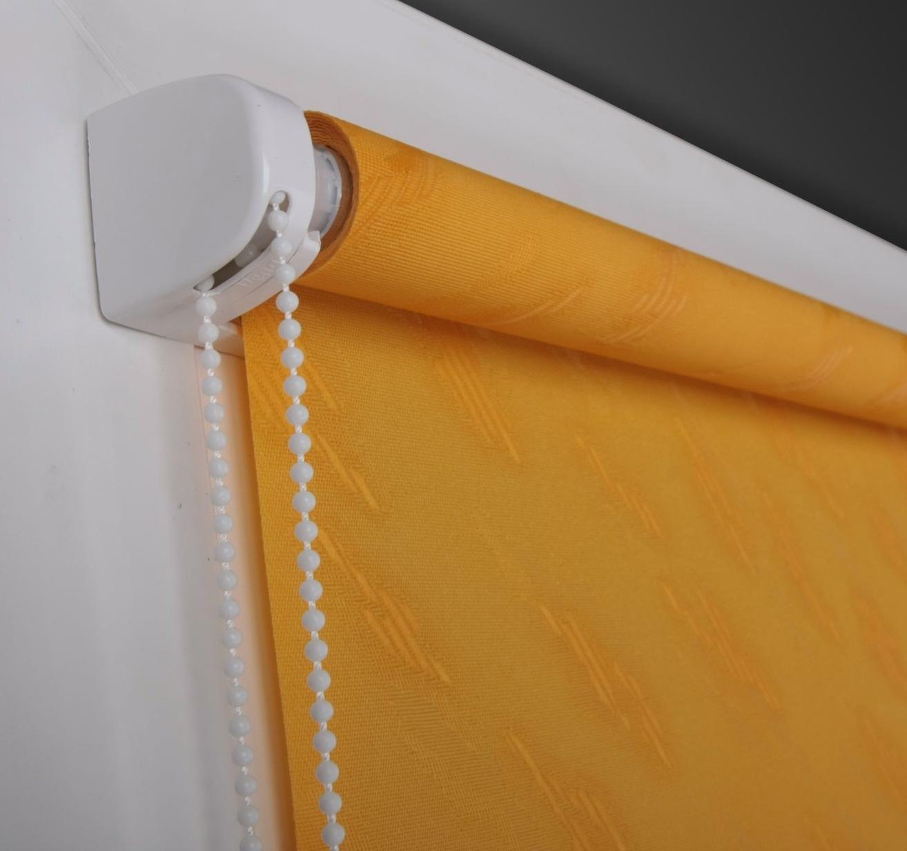 Простой ручной механизм рулонной шторы своими руками фото
