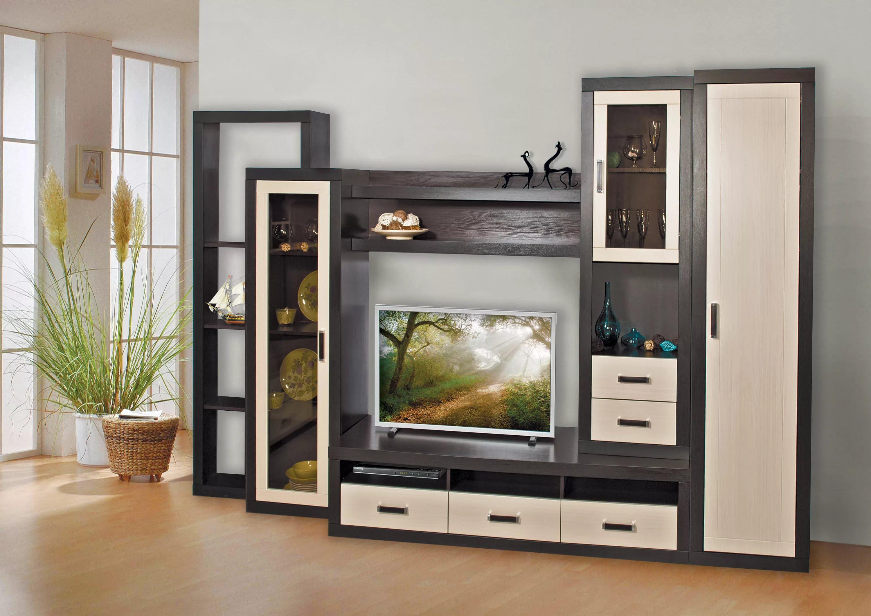 Модульные стенки (49 фото): мебель в виде горки, угловые и п.