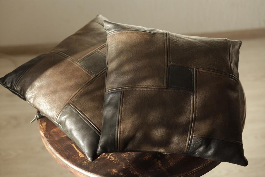 Подушка из кожзама своими руками 71