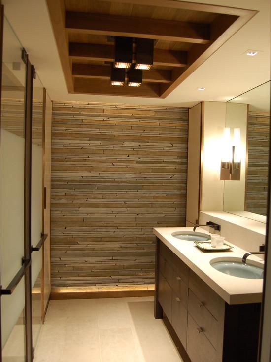 Варианты светильников в ванной