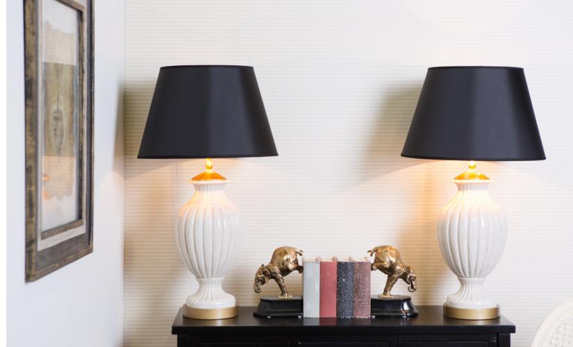 Настольные лампы в ретро стиле купить в интернет-магазине