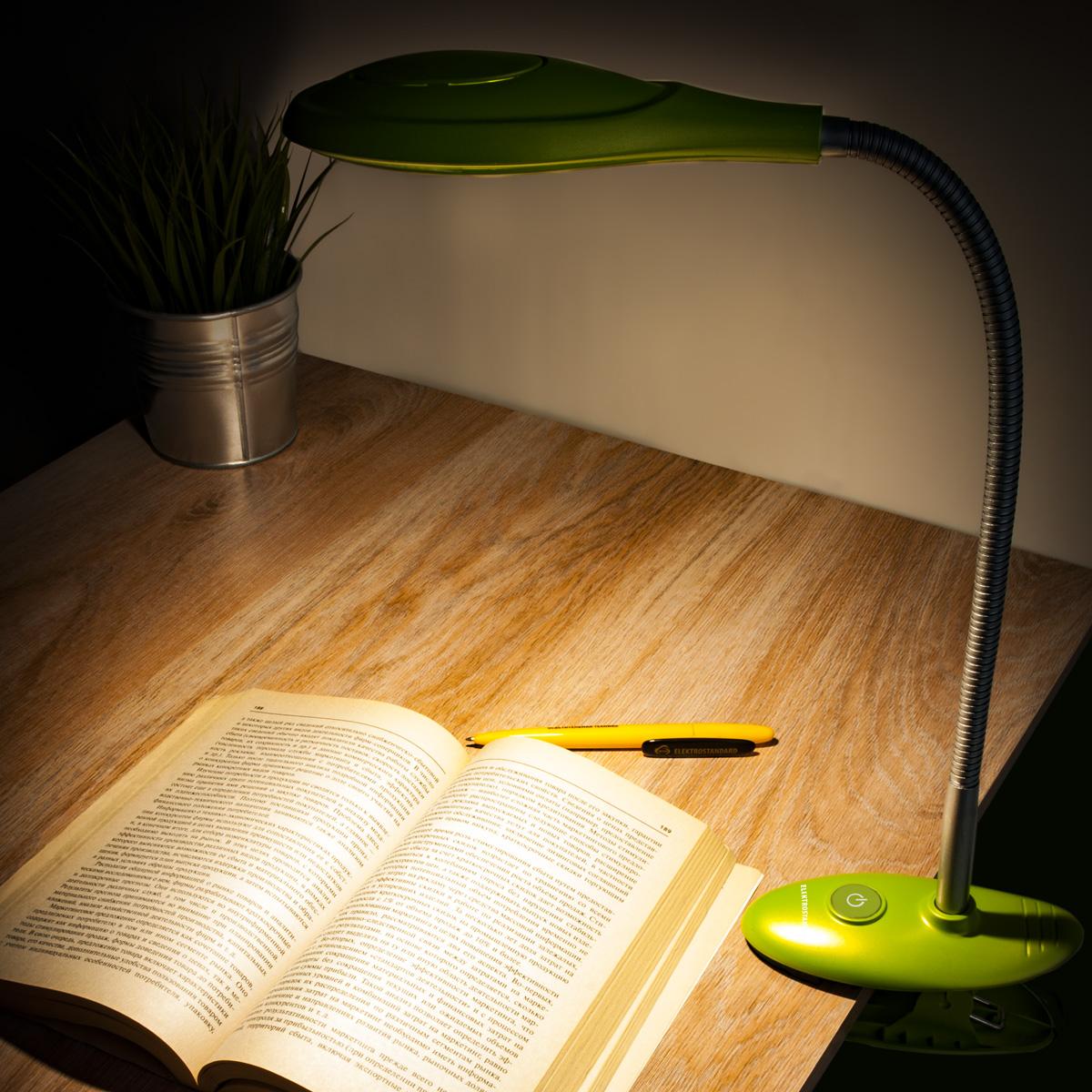 Лампа настольная светодиодная + часы + термометр