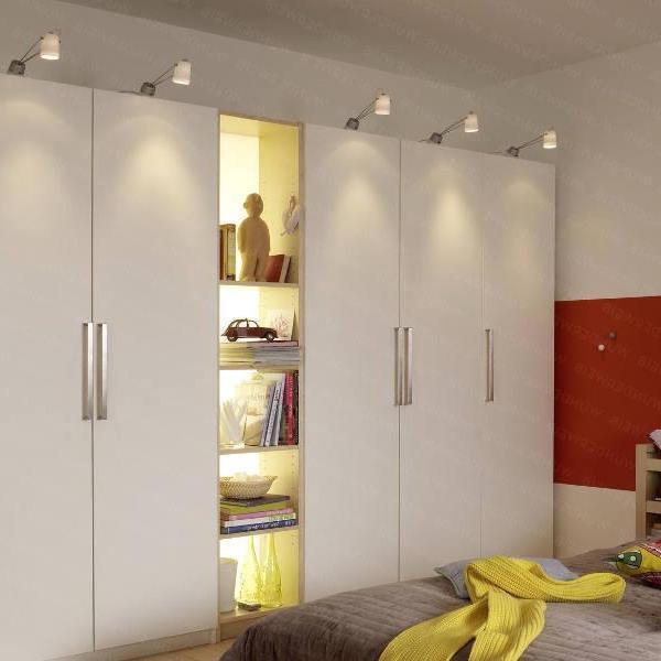 Мебельные светильники (48 фото): встраиваемые и накладные св.