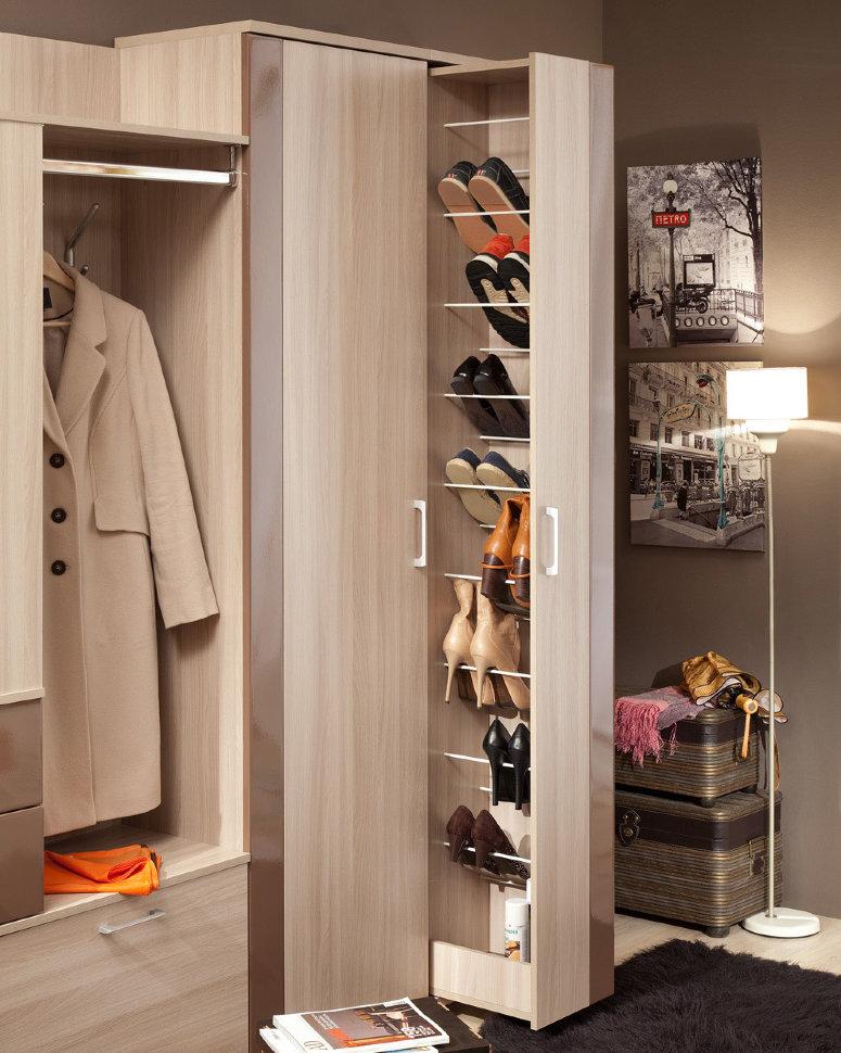 Наполнение шкафа (52 фото): выдвижные ящики и полки внутри с.
