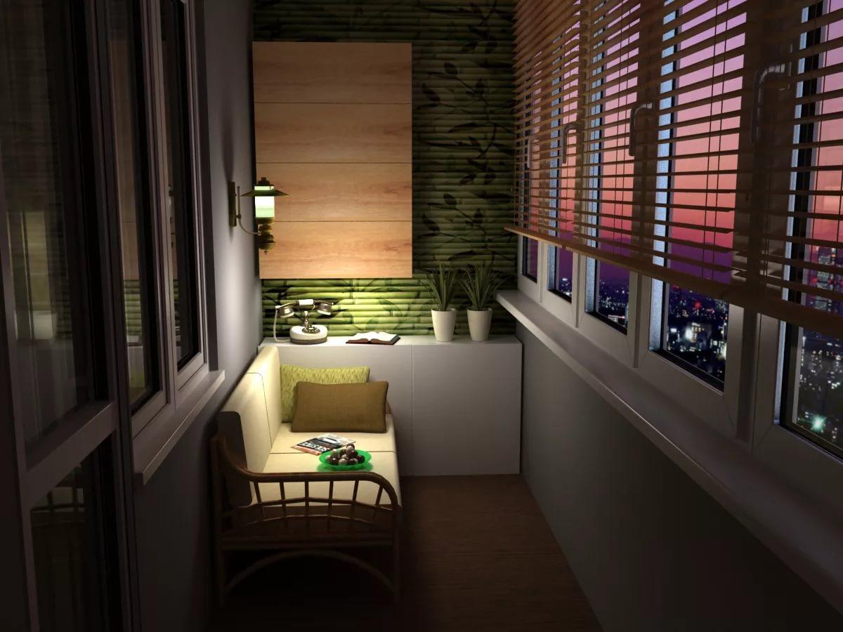 Освещение на балконе (46 фото): уличные и настенные светильн.