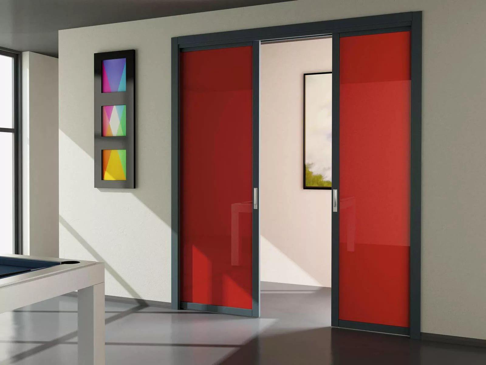 Раздвижная дверь одностворчатая