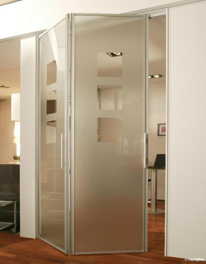 Дверь-гармошка (58 фото): межкомнатные раздвижные и складные.