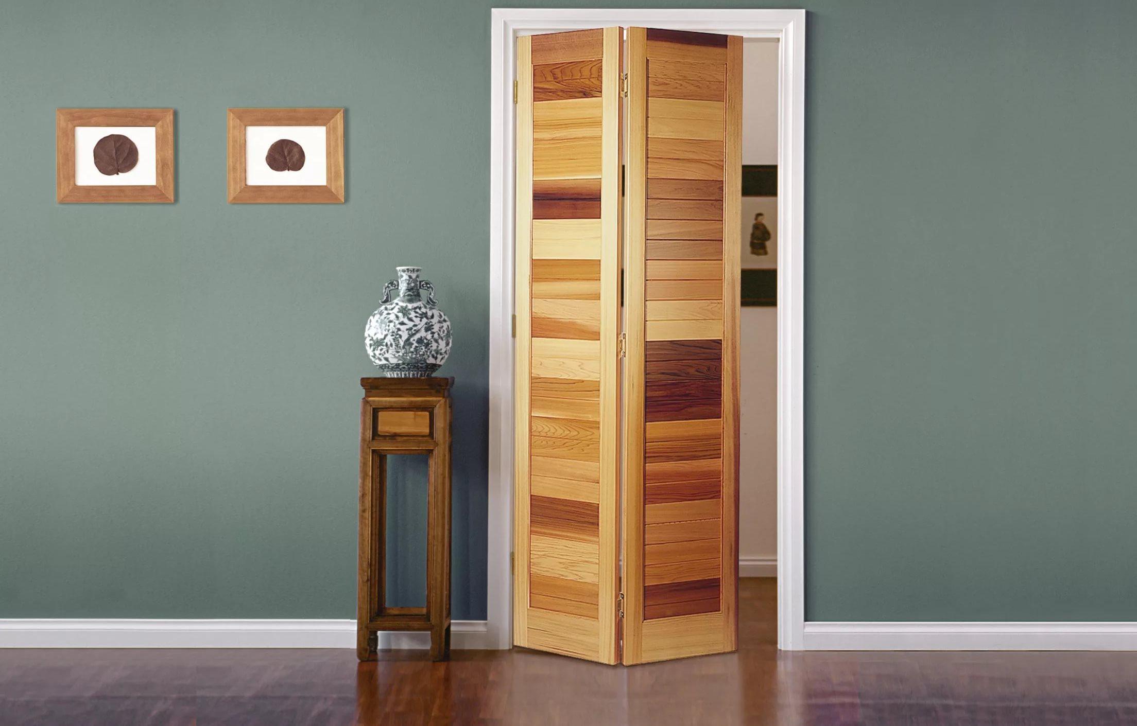 Дверь гармошка своими руками сделать фото 219
