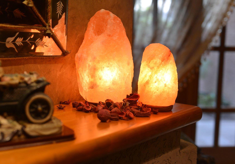 Как пользоваться солевой лампой дома