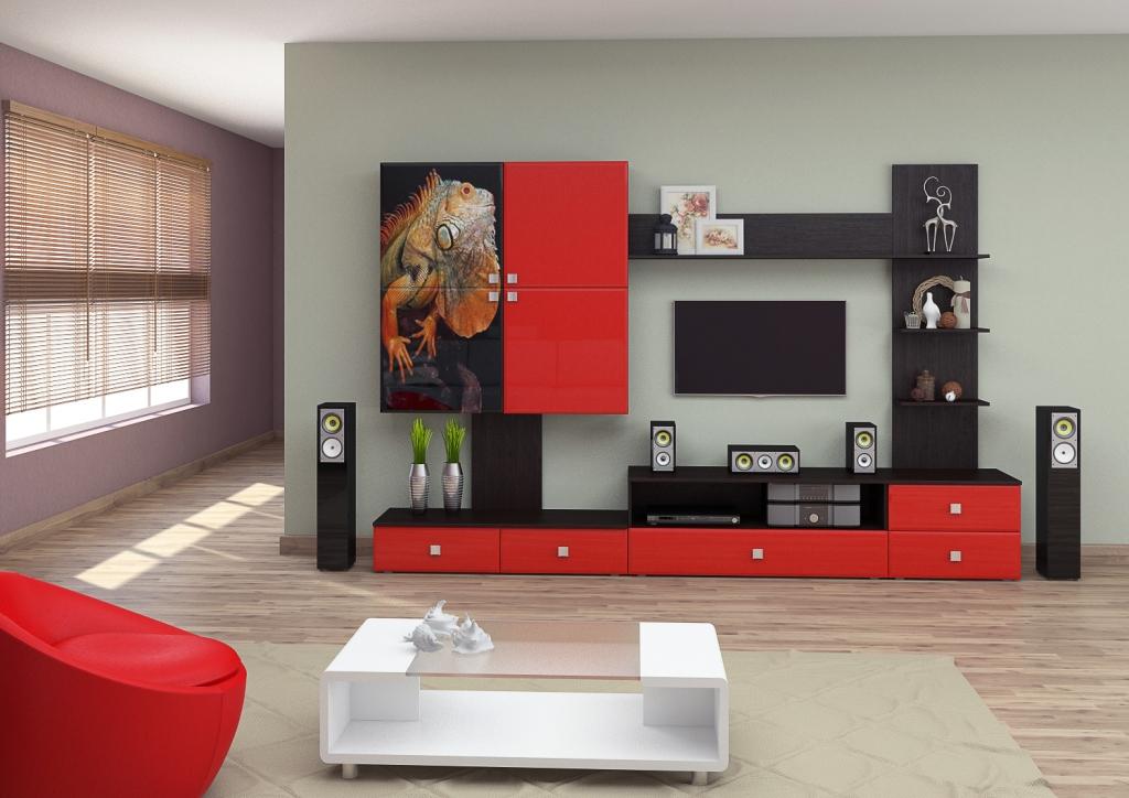 Стенки под телевизор (73 фото): шкаф для тв в гостиную и спа.