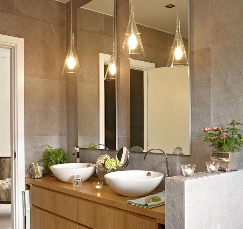 Светильники в ванную фото 11