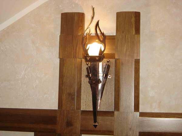 Светильник факел под старину15