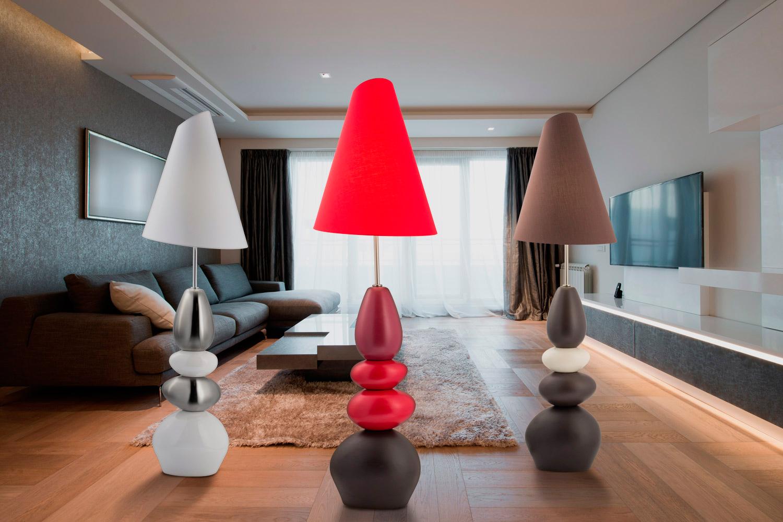Дизайн напольный светильник в