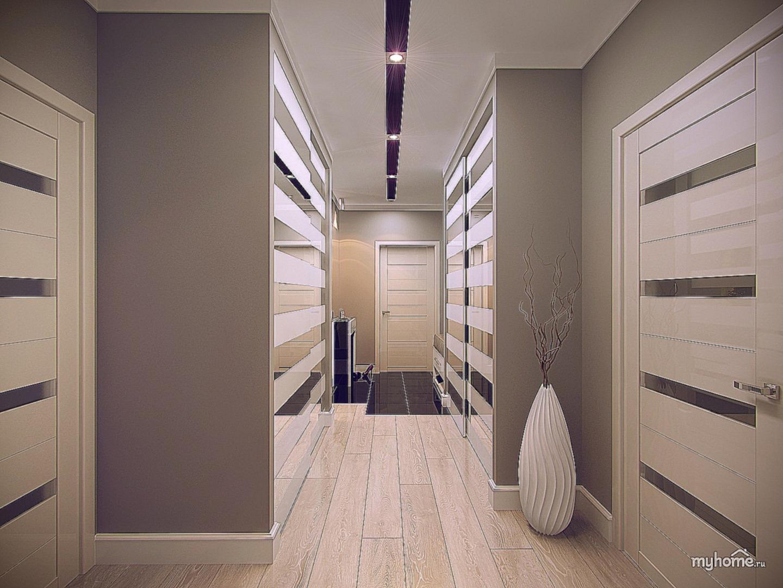 дизайн проект холла в доме 6