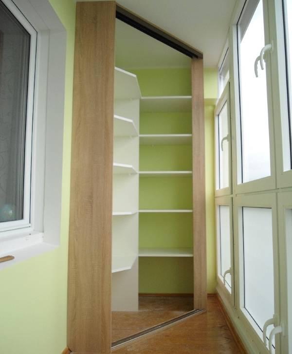 Как сделать шкаф на балкон (лоджию) своими. - Легко вместе