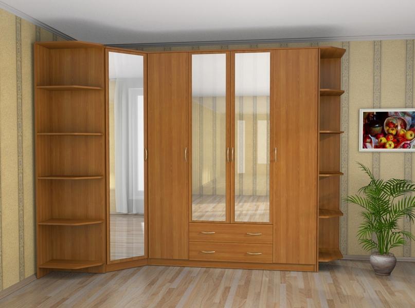 Угловые шкафы в гостиную (36 фото): современные шкафы-витрин.