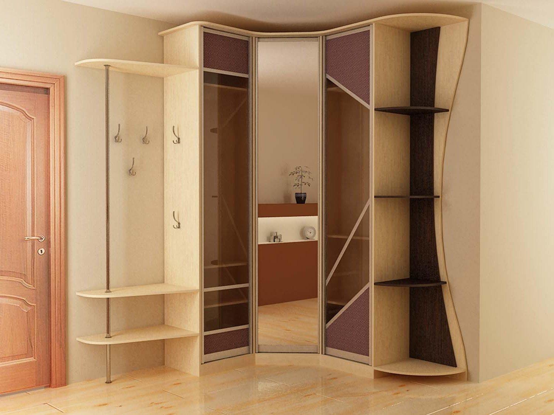 Угловой шкаф в прихожую (57 фото): идеи дизайна маленьких и .