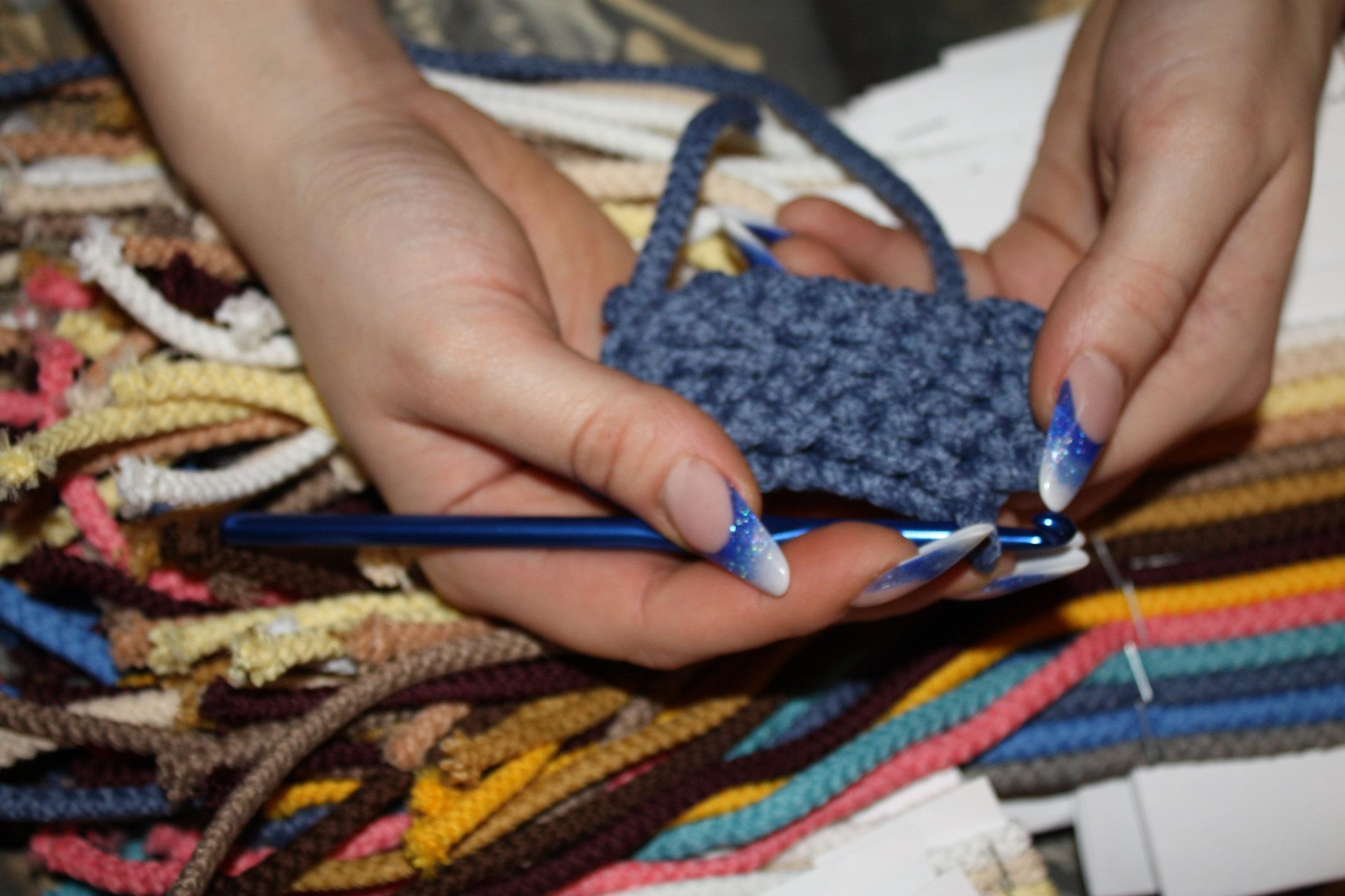 Шнур для вязания ковра своими руками фото 355