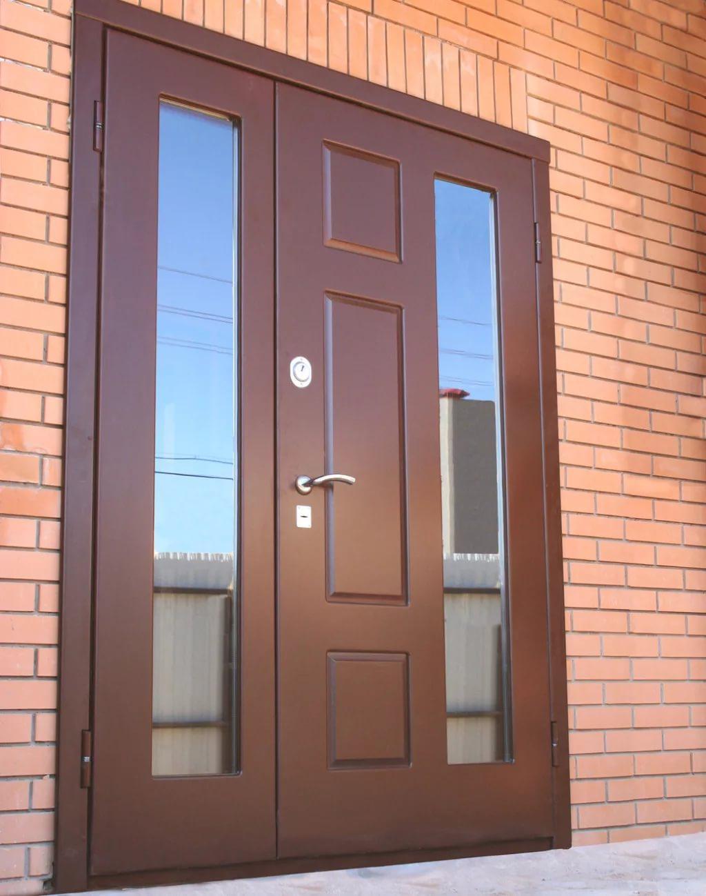 Двери металлические входные уличные утеплённые своими руками