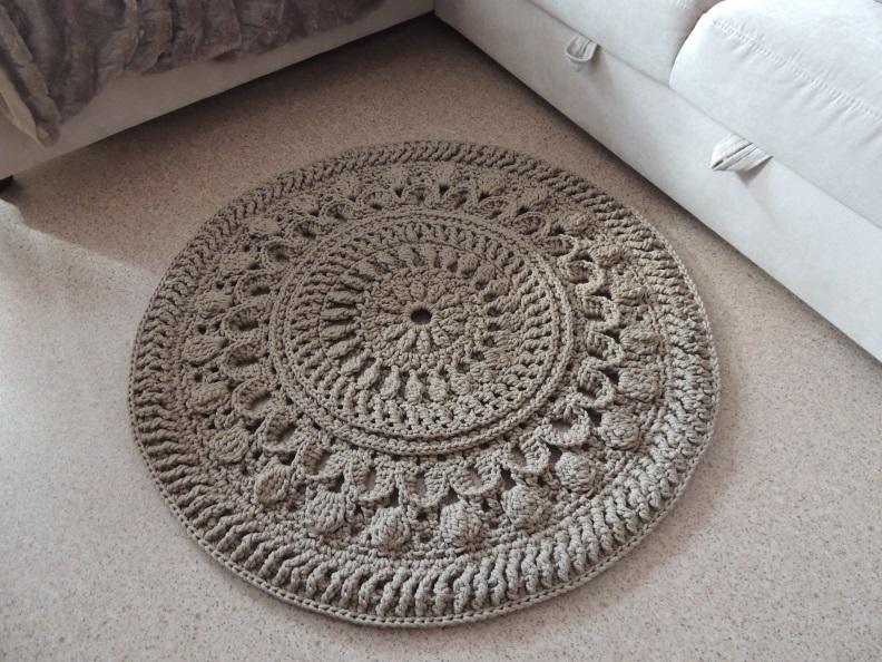Ручное вязание ковров 35