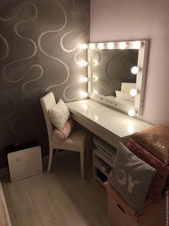 Гримерное зеркало с лампочками своими руками фото 614