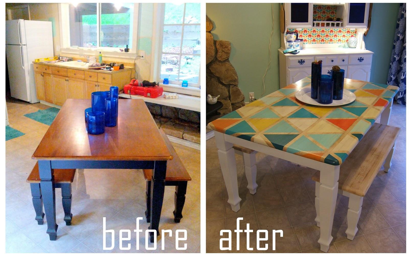 Декорировать кухонный стол своими руками