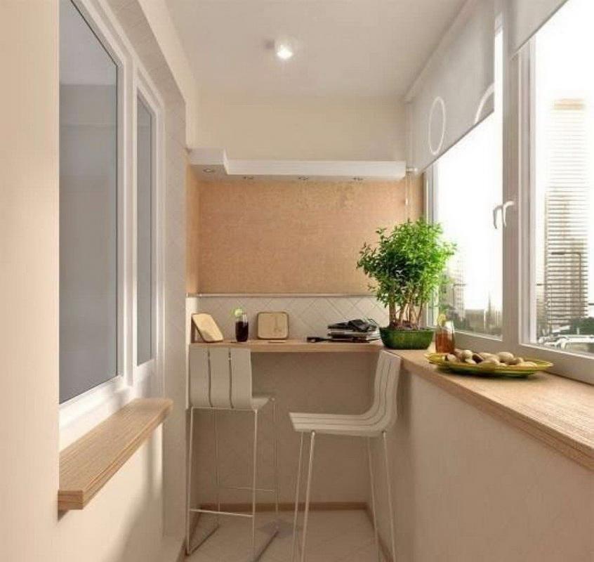 Практичная и красивая мебель для балкона и лоджии.