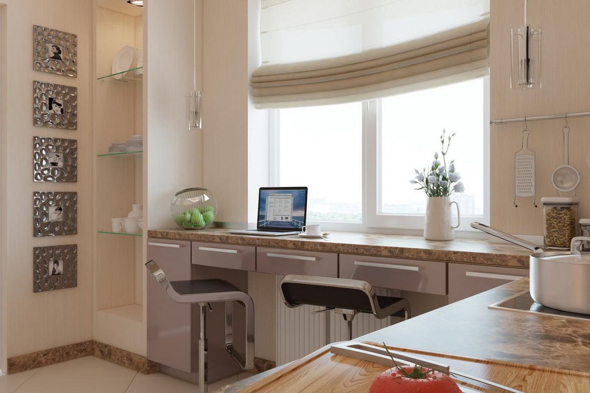 Кухни дизайн угловые маленькие с рабочей зоной
