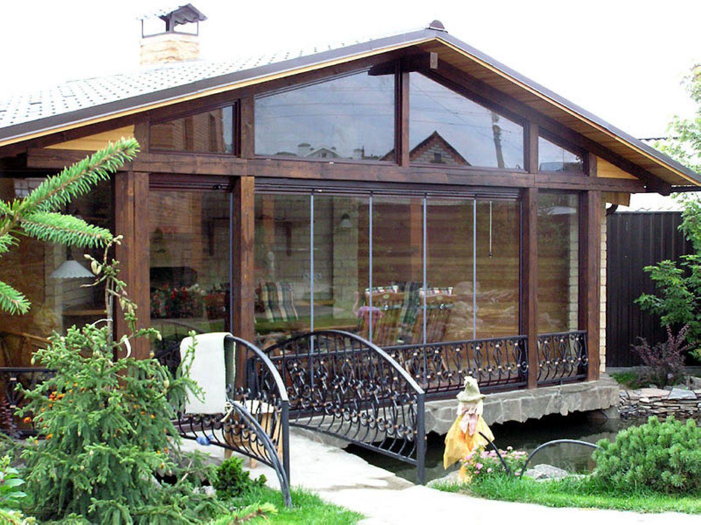Крыльцо для частного дома фото своими руками из поликарбоната фото 868