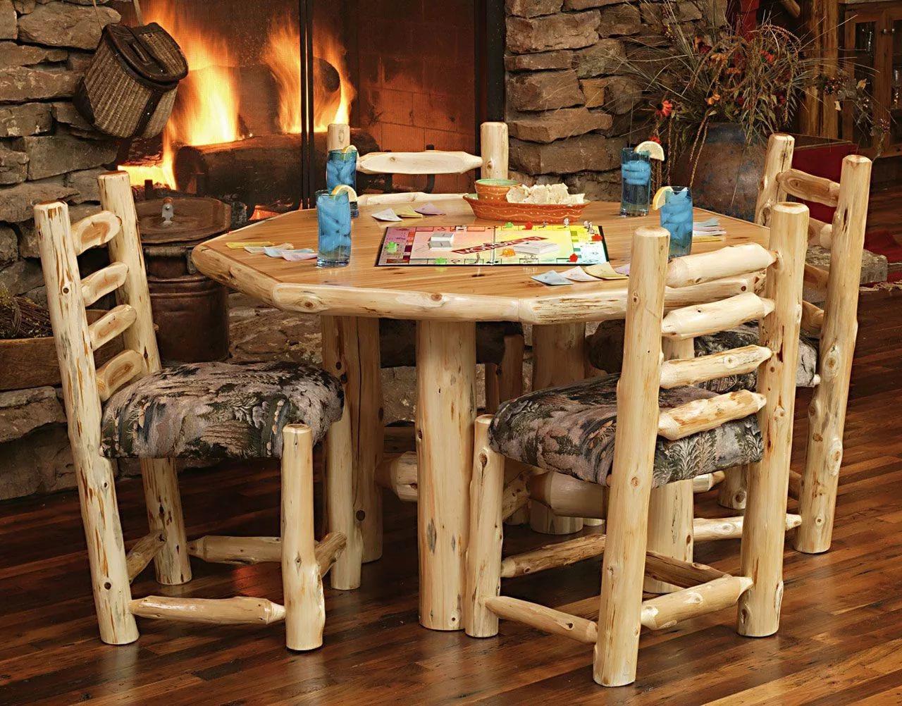 Фото деревянной мебели своими руками