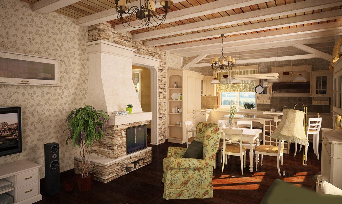 Стиль Прованс в интерьере дачного дома фото лучших дизайнов