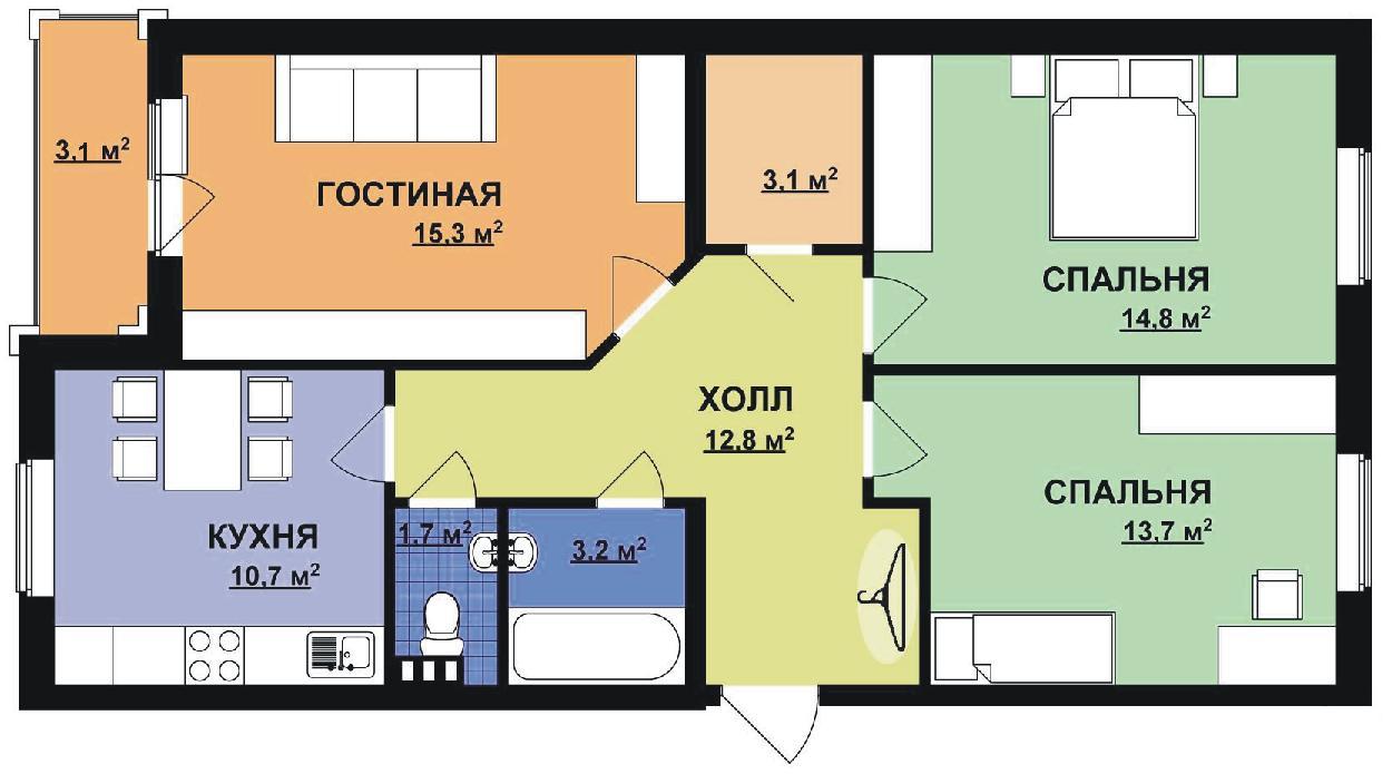 Согласование перепланировки квартиры, находящейся