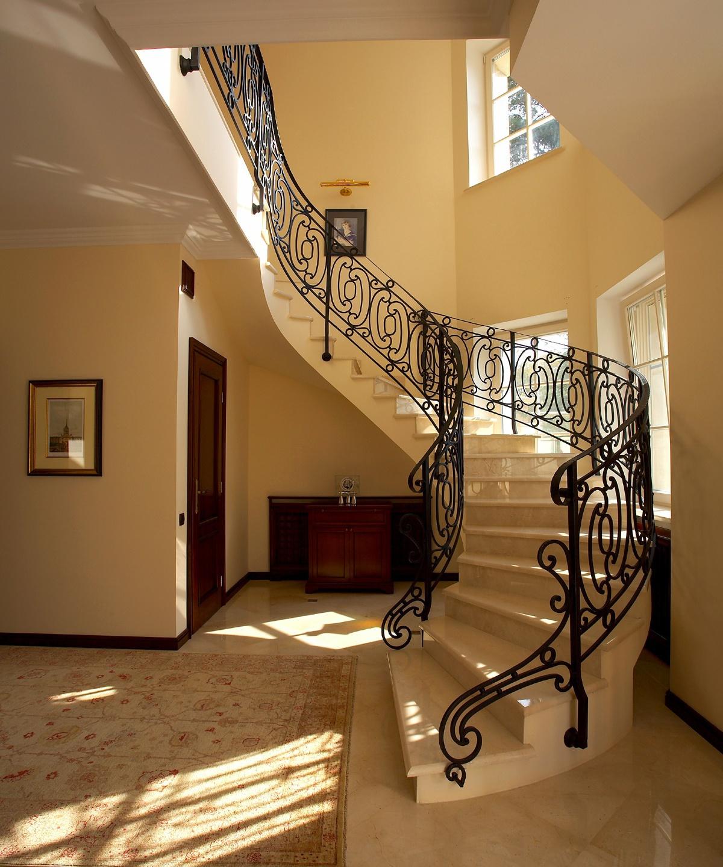 Дизайн лестничного пролета фото