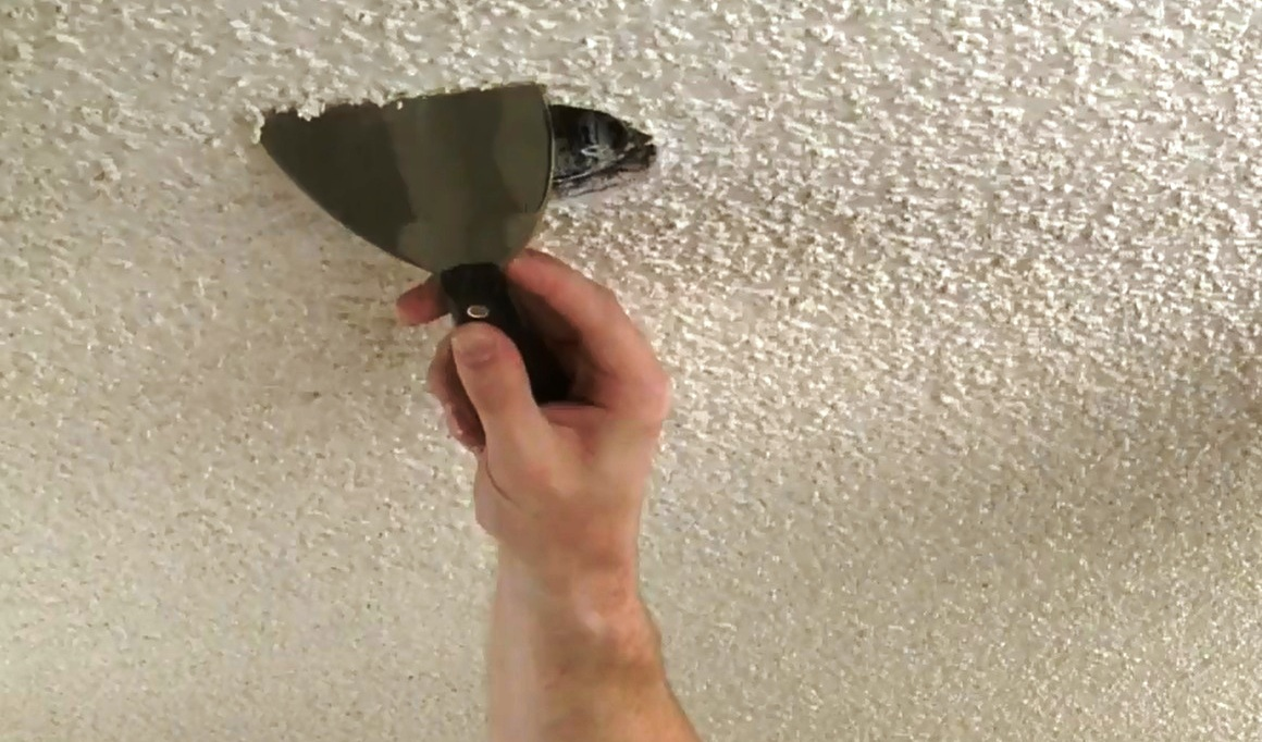 How to remove ceiling tiles
