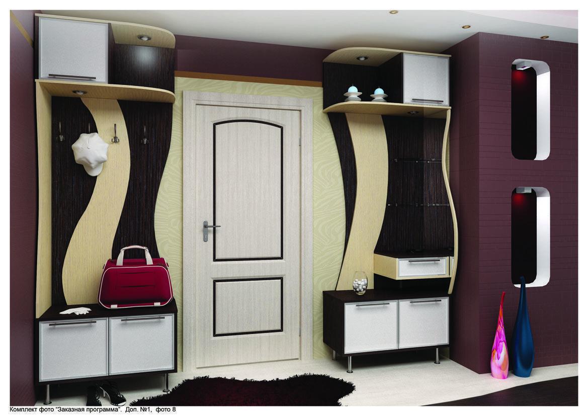 """Дизайн коридора в """"хрущевке"""" (63 фото): интерьер и планировк."""