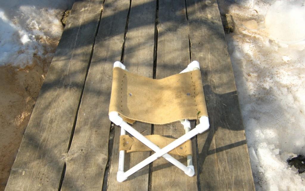 Как сделать складной стульчик на рыбалку