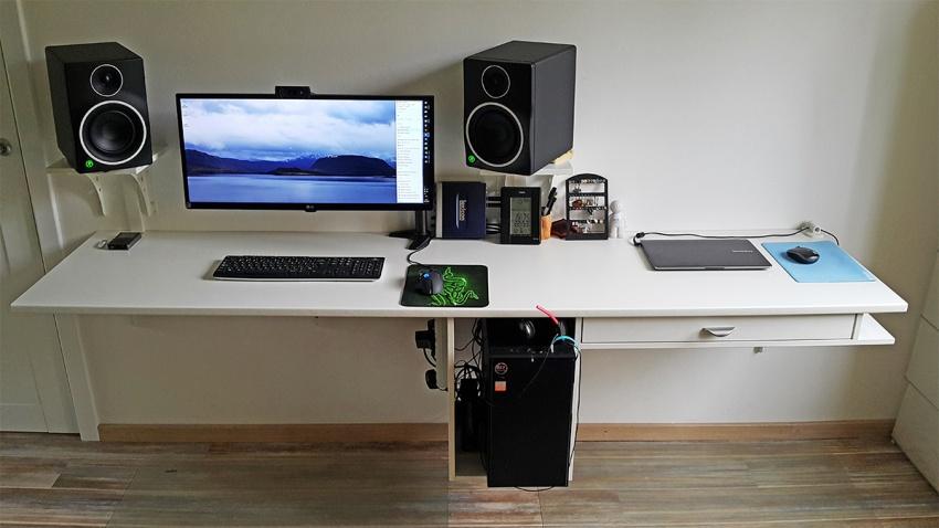 Как сделать себе компьютерный стол 807