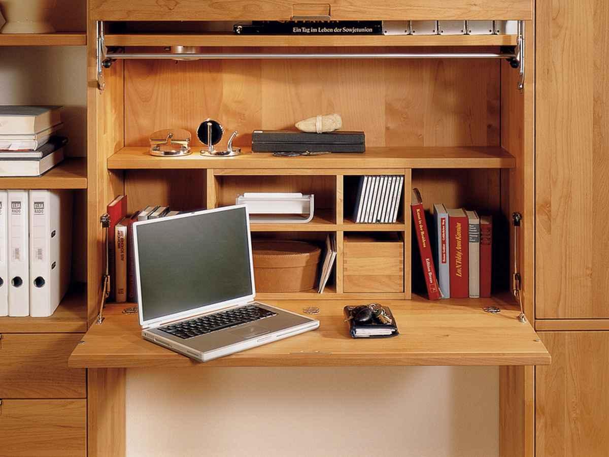 Компьютерный стол в шкафу своими руками.