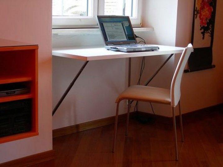 Маленький письменный стол: компактные небольшие изделия для .