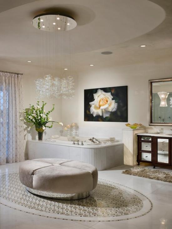 Люстра ванная комната фото купить смеситель с тропическим душем
