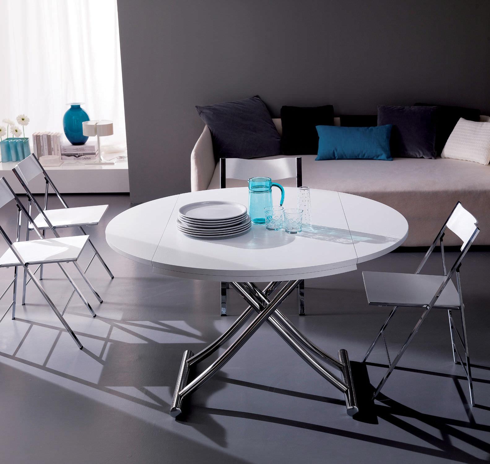 Круглый стол-трансформер своими руками 668