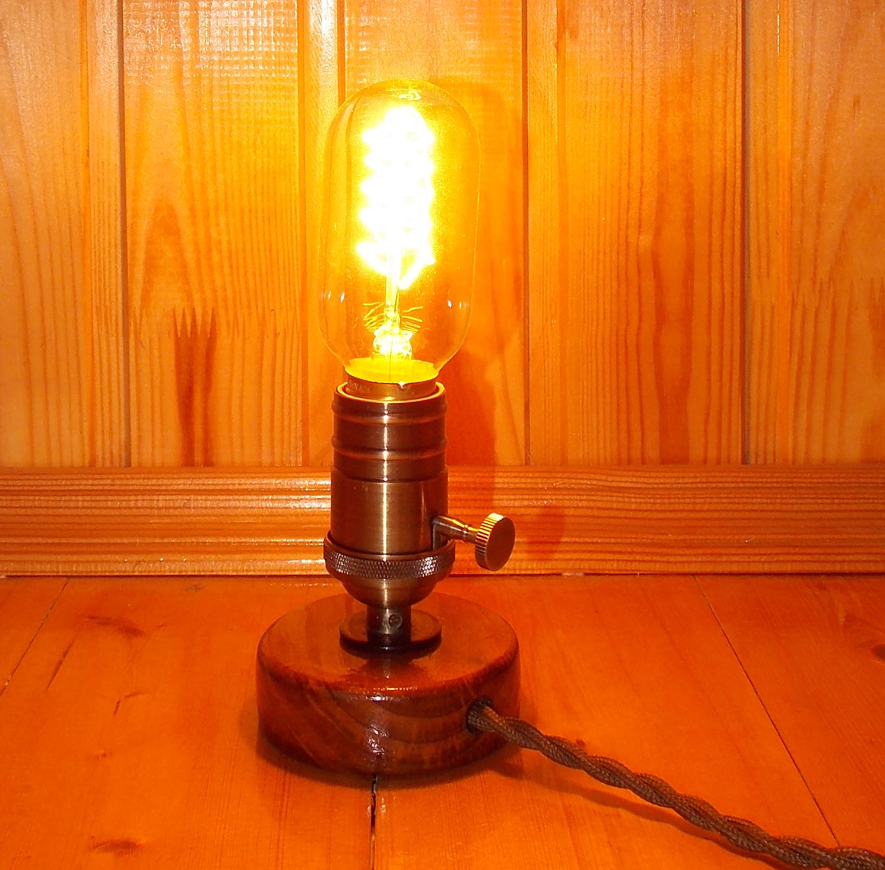 Светильник эдисона своими руками 42