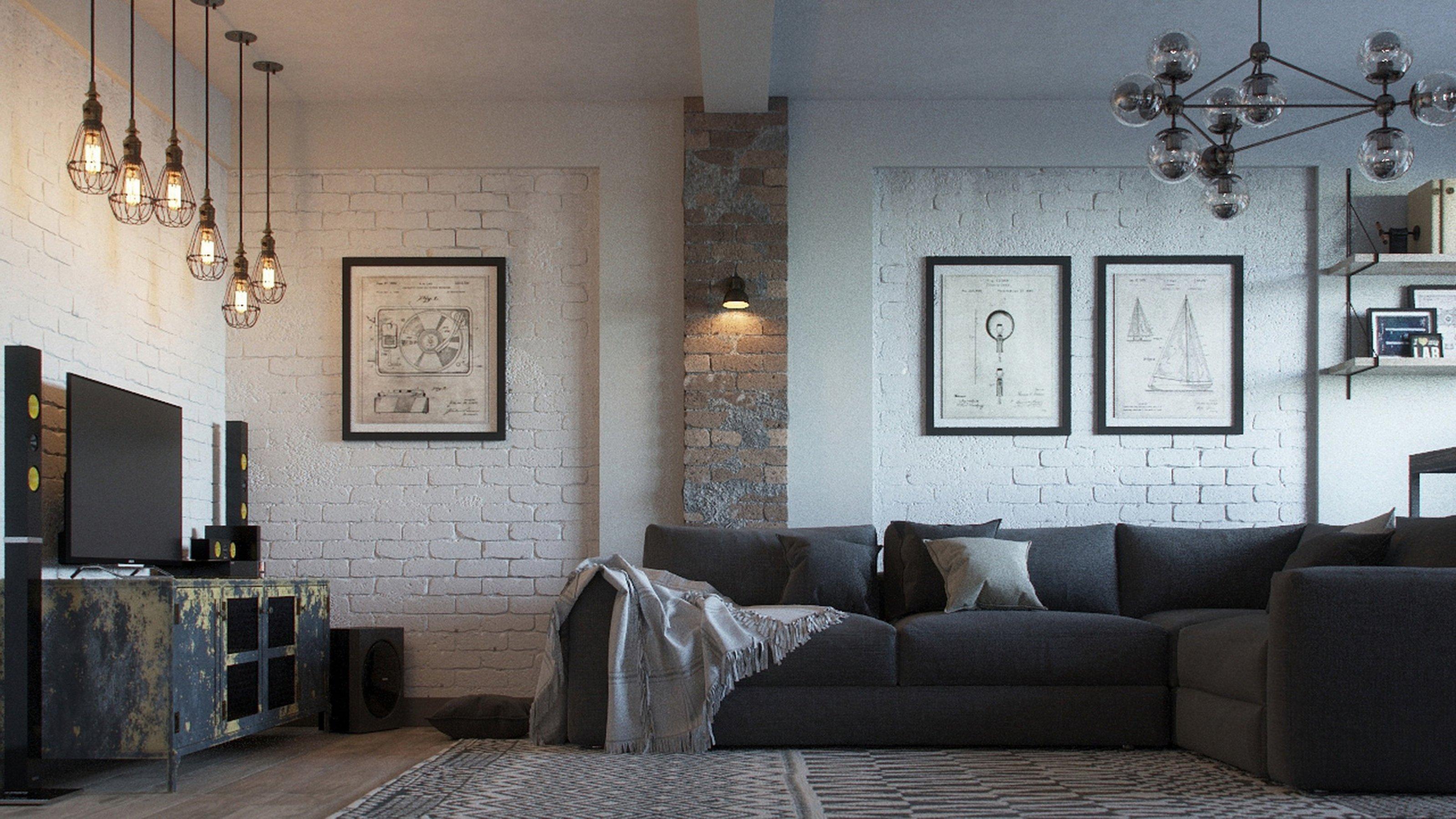 Светильники в стиле лофт - особенности стиля