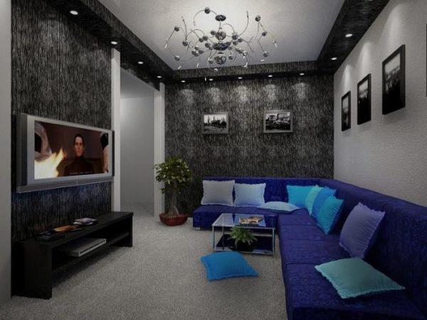 дизайн комнаты 18 кв м 69 фото интерьер прямоугольной