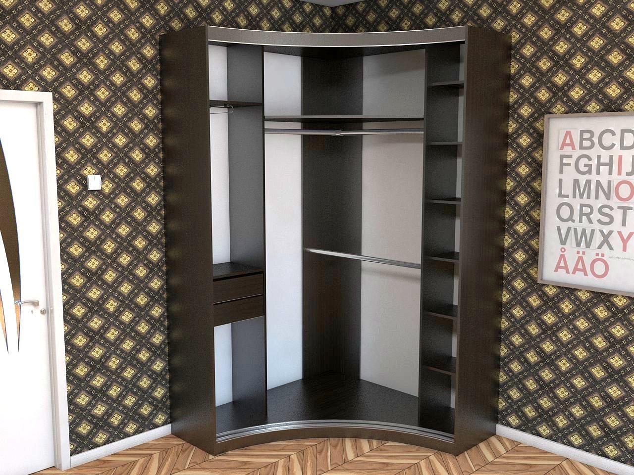 Угловые шкафы-купе готовые и под заказ от 3246 грн